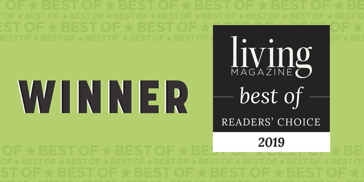 winner living magazine best of readers choice 2019